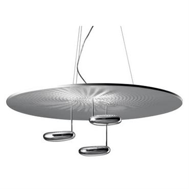 Suspension Droplet / LED - Ø 100 cm - Artemide Chromé en Métal