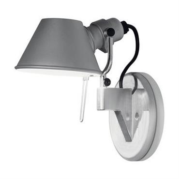 Applique Tolomeo Faretto LED - H 20 cm - Artemide Métal