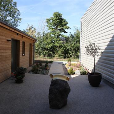 Construction d'une maison individuelle avec atelier d'artiste