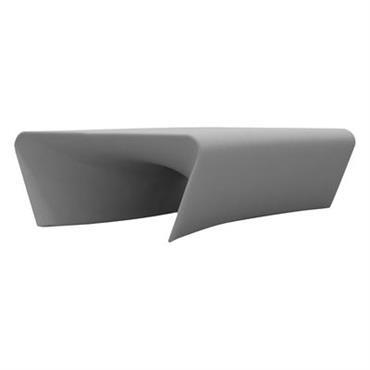 Table basse Piaffé - Driade Gris clair en Matière plastique