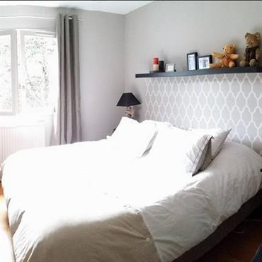 Style de d coration chambre id es photos am nagements for Idee deco papier peint chambre adulte