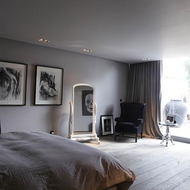 Chambre moderne tendances nouveaut s et photos domozoom for Couleur chambre adulte moderne