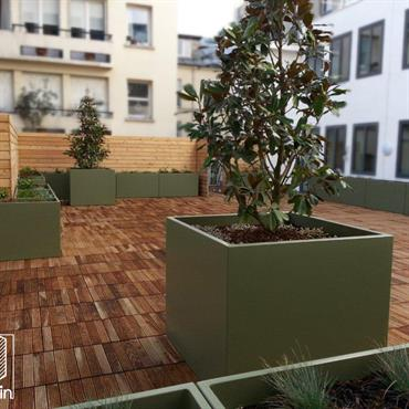 Résidence Rue de la Condamine, Paris 17e –  Une réalisation signée AP ENVIRONNEMENT