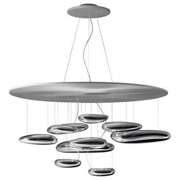 Suspension Mercury / LED - Ø 110 cm - Artemide chromé en métal