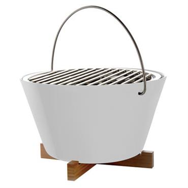 Barbecue portable à charbon / Ø 30 x H 20 cm