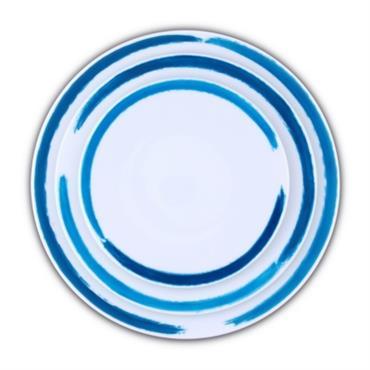 Set de 3 assiettes Porcelaine de Limoges décor ARTWORK