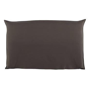 Housse de tête de lit 180 taupe Soft