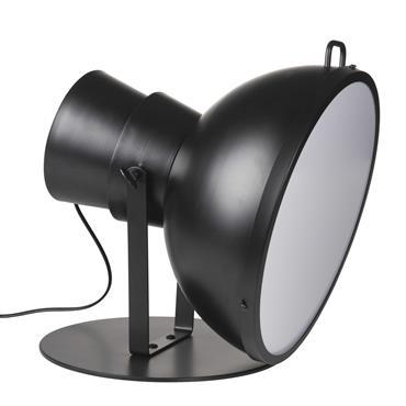 Lampe orientable en métal noir et Plexiglas® SOFT