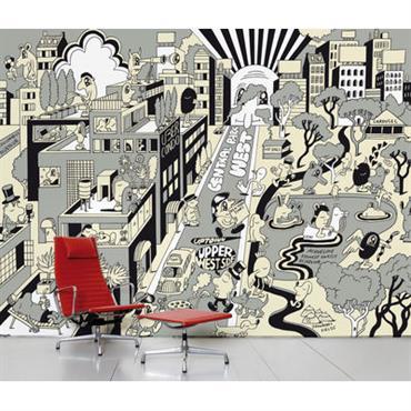 Papier peint panoramique Upper West Side / 8 lés - L 372