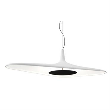 Suspension Soleil Noir LED / 120 x 62