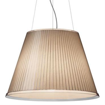 Suspension Choose Mega Ø 55 cm - Artemide beige en matière plastique
