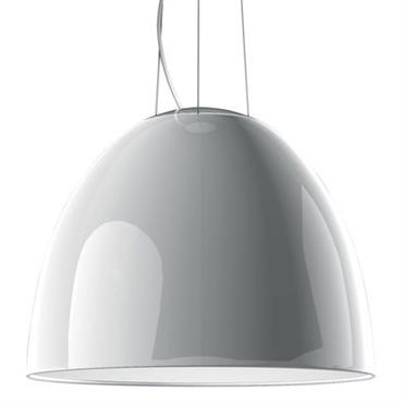 Suspension Nur Gloss Ø 55 cm - Version laquée - Artemide Blanc