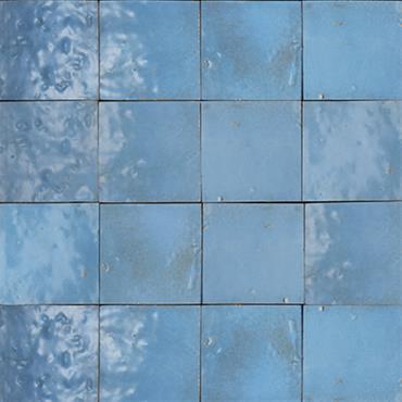 Zellige bleu ciel