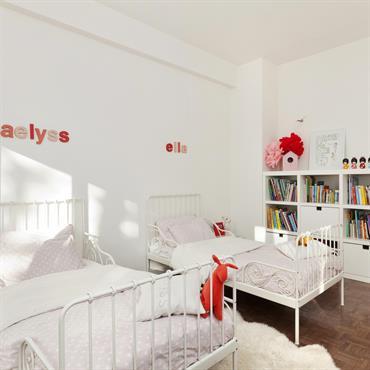 Chambre partagée avec deux lits