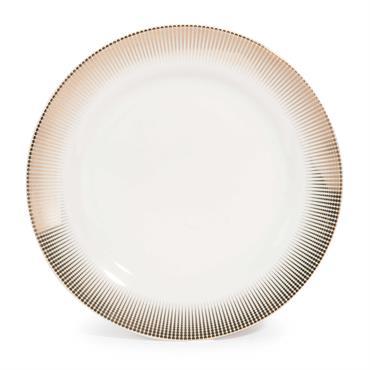 Assiette à dessert en porcelaine D 19 cm VERSAILLES