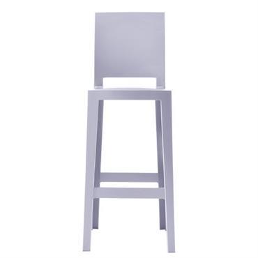 Chaise de bar One more please / H 65cm - Plastique