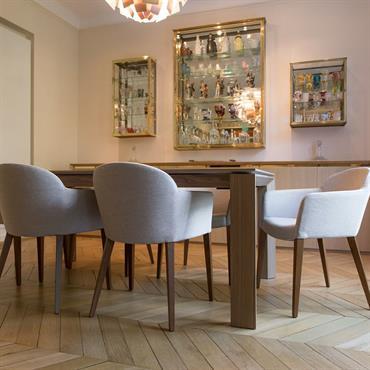 Salon clair et lumineux, design contemporain signé Jérôme W. Bugara