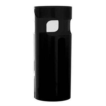 Porte-parapluies - Kartell noir opaque en matière plastique