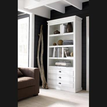 am nagements de la biblioth que modernes domozoom. Black Bedroom Furniture Sets. Home Design Ideas