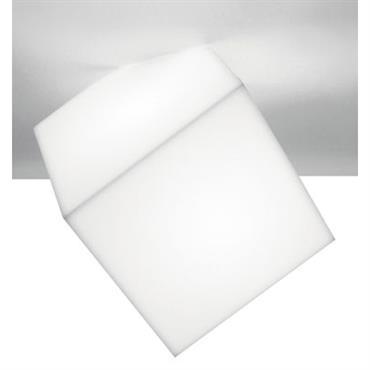 Applique Edge / Plafonnier - Artemide blanc en matière plastique