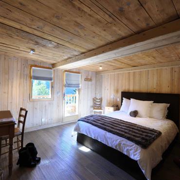 Chambre tout en bois