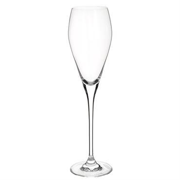 Flûte à champagne en verre SILHOUETTE