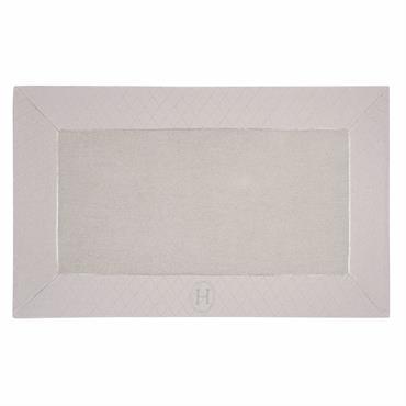 Tapis de bain en coton beige 50 x 80 cm HÔTEL