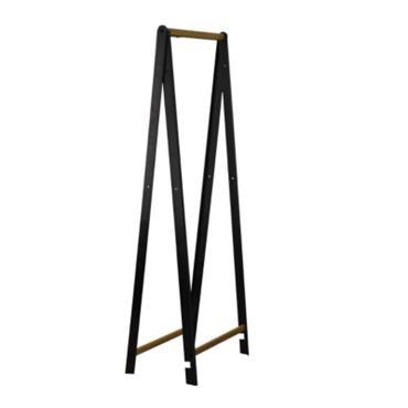 Portant en métal et bois pliable 90 cm