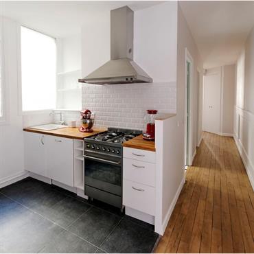Petite cuisine - Idee cuisine petite surface ...