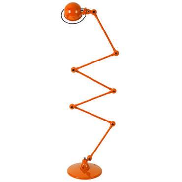Lampadaire Loft Zigzag / 6 bras - H max 240 cm
