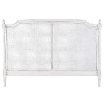 La tête de lit en rotin blanc Saint-Rémy est la déco de chambre idéale pour une chambre douce et romantique. Venez savourer un lieu de paix avec la tête de ...