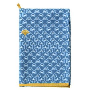 Torchon Pastèques / 50 x 70 cm - Fermob bleu turquoise en tissu