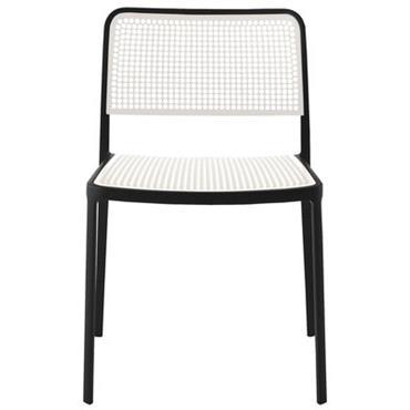 Chaise empilable Audrey - Kartell blanc en matière plastique