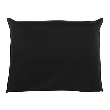 Housse de tête de lit 140 noire Soft