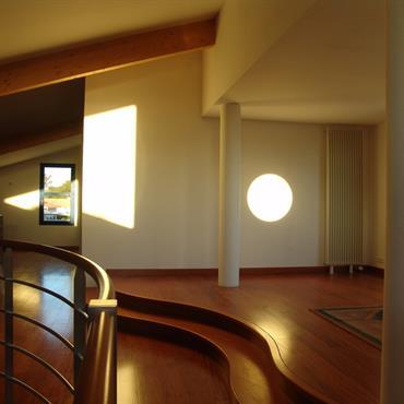 Courbes et contre-courbes en mezzanine