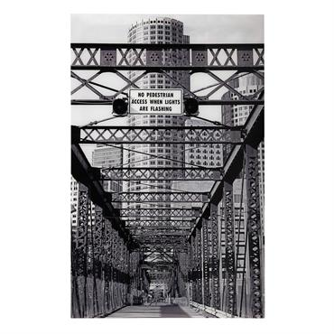 Tableau en plexi® 93 x 140 cm IRON BRIDGE