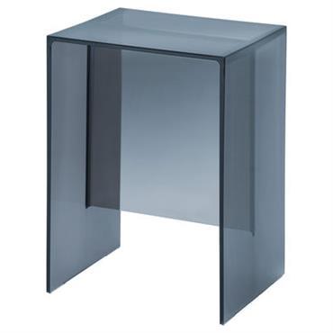 Table d´appoint Max-Beam / Tabouret - Kartell bleu crépuscule en matière plastique