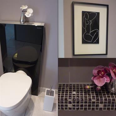 Toilettes sobre et chic en tons sombres