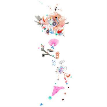 Papier peint Light Mix / 1 lé - Domestic multicolore en papier