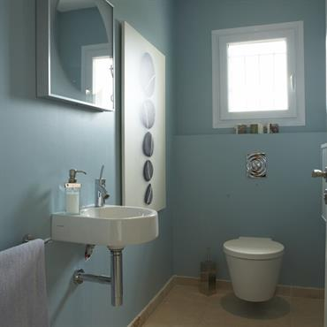 Toilettes modernes id e d co et am nagement toilettes modernes domozoom for Amenagement toilette
