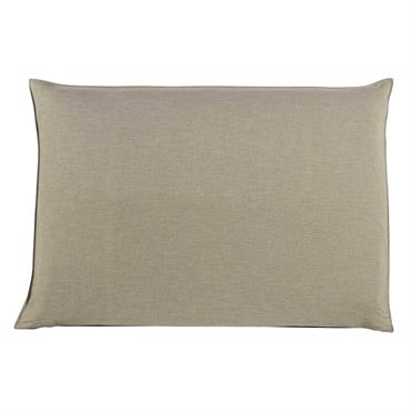 De couleur sobre et neutre, cette housse de tête de lit créera une atmosphère douce et lumineuse dans votre chambre. À combiner avec la tête de lit 160 SOFT, cette ...
