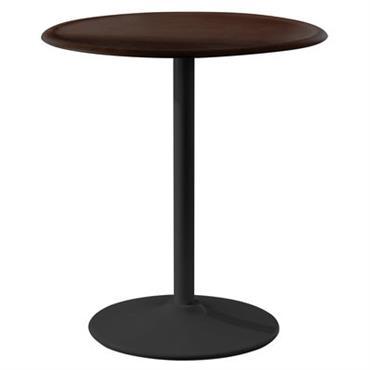 Table de jardin Pipe / Ø 66 cm - Magis noir