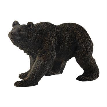 Invitation à la nature, la statue ours TED s'intégrera dans votre intérieur au style montagnard. Nuancée de marron, la sculpture animale vous séduira par son réalisme. Le détail déco : ...