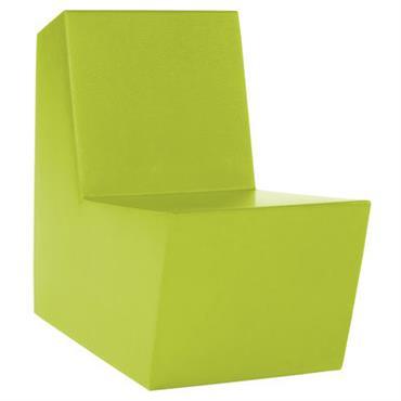 Fauteuil enfant Minus Primary Solo - Quinze & Milan vert citron
