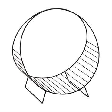 Avec sa forme circulaire, le porte-revues en métal noir OLIVER vous offrira un rangement original et moderne pour y déposer vos magazines et journaux. Ce porte-revues design saura parfaire votre ...
