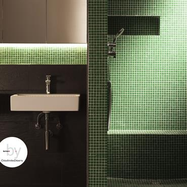 Salle d'eau Liné Taille adaptable Model  XS à XL de 3990€ à 9900€ Clés en mains