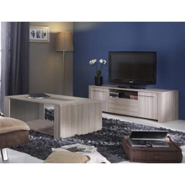 Ensemble table basse et meuble TV Dauphi ne