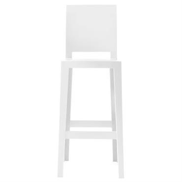Chaise de bar One more please / H 75cm - Plastique
