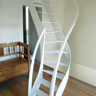 Escalier design profil débillardé