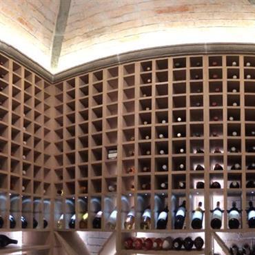 Cave à vin en bois